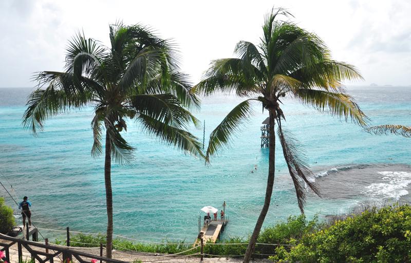 Wybrzeże Isla Mujeres