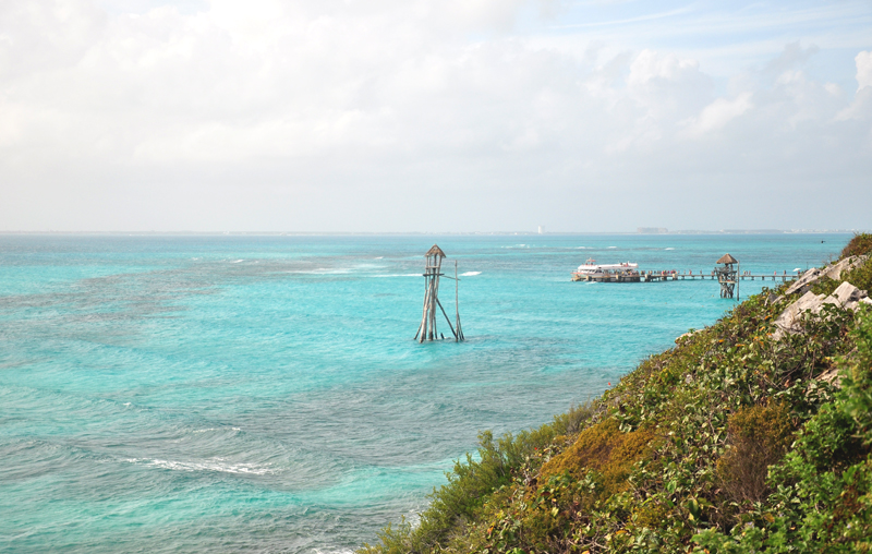 lazurowa woda Isla Mujeres