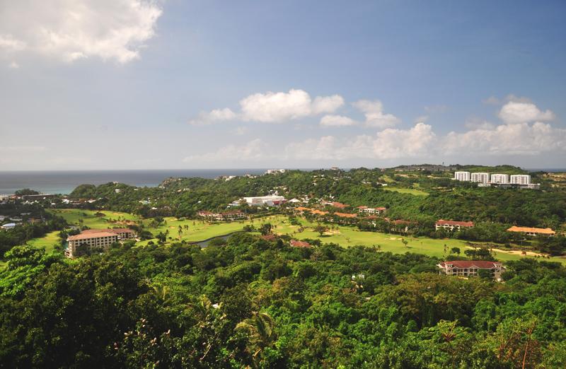 Widok z Mount Luho Boracay