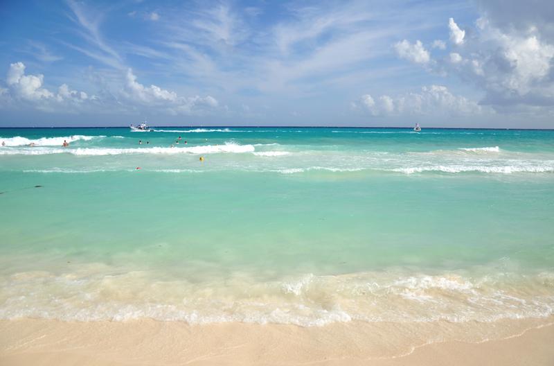 Playa del Carmen plaża