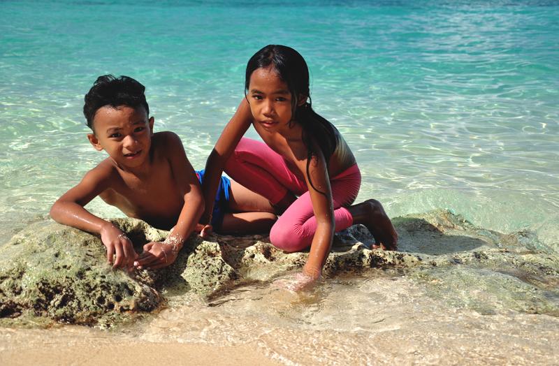 pływanie na Boracayu