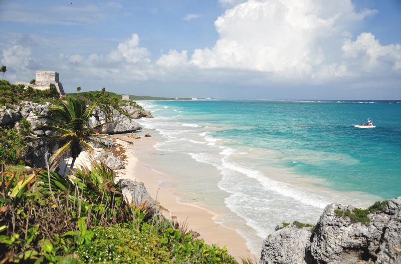 Widok Tulum Jukatan
