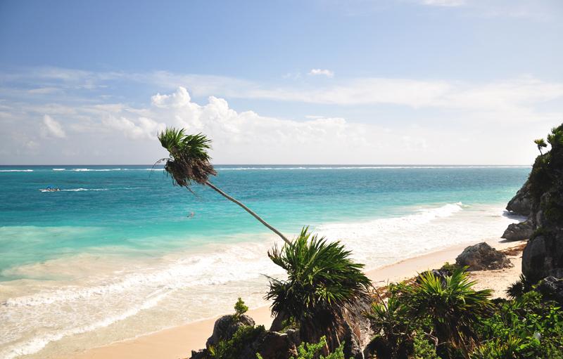Plaża Tulum Jukatan