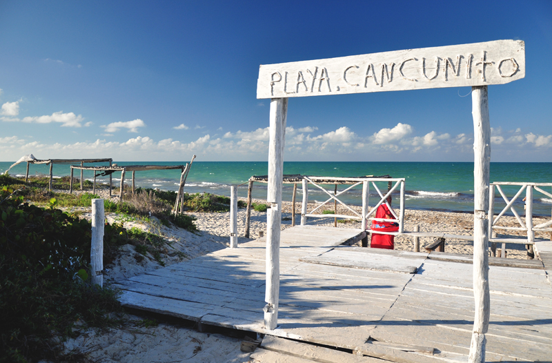 playa cancunito meksyk