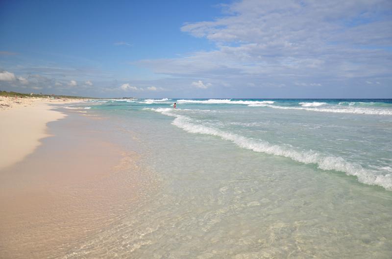 błękitna woda Cozumel