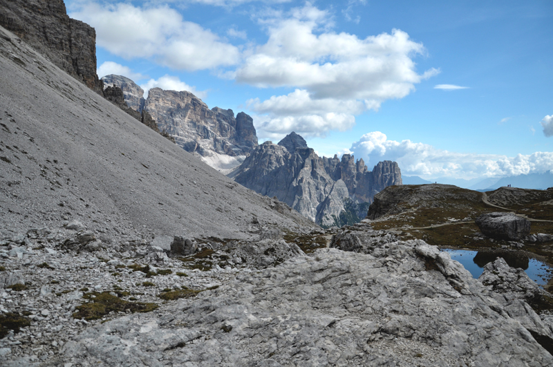 krajobraz Dolomity