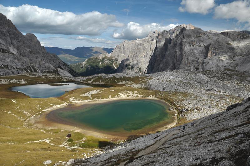 Jeziora Dolomity