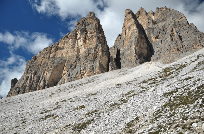 Dolomity widok na góry