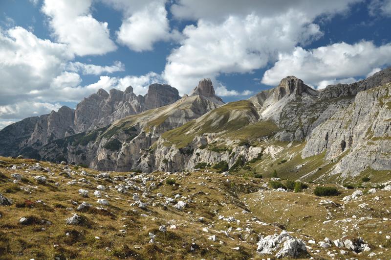 Szczyty Dolomity