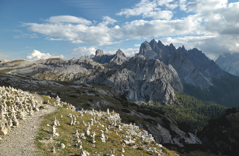 Krajobrazy Dolomity