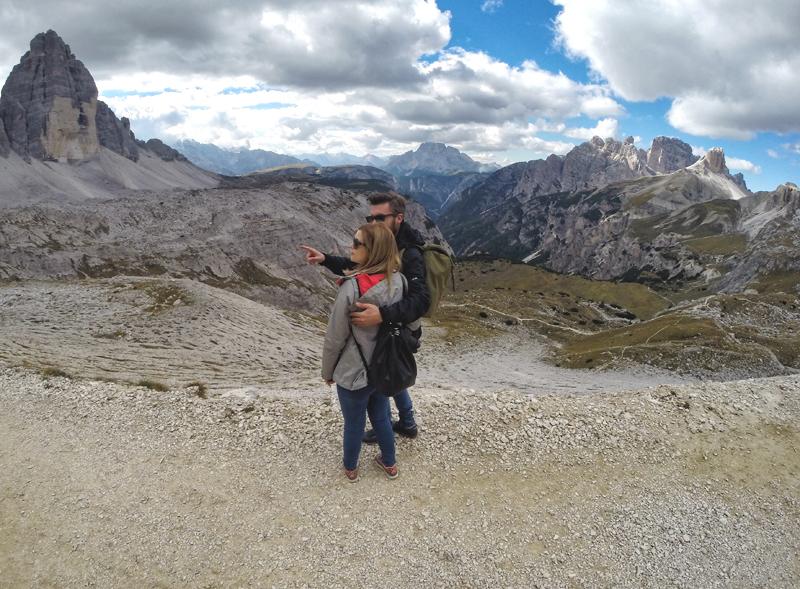 Monika i Hubert w Dolomitach