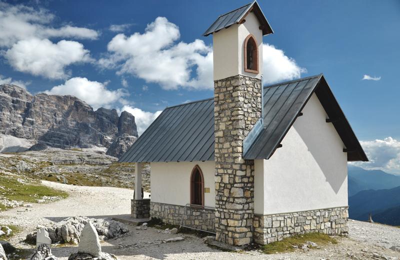 Dolomity kapliczka