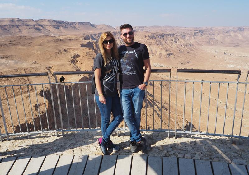 Zwiedzanie Masady