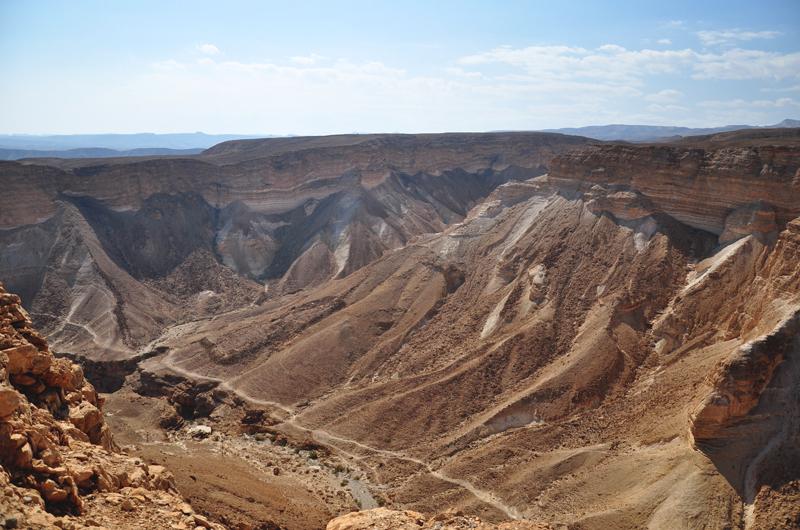 Pustynia Negew Izrael
