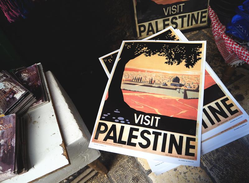 plakaty w jerozolimie