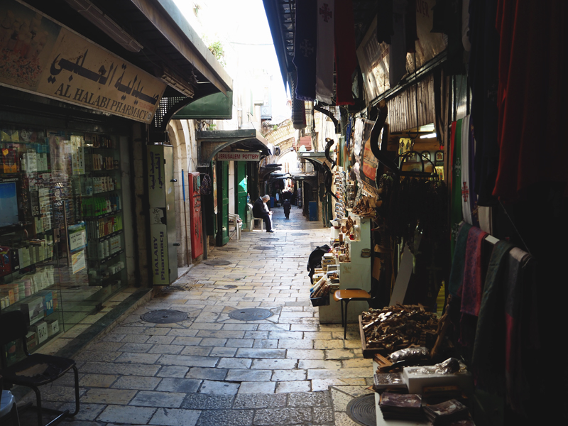 ulice jerozolimy