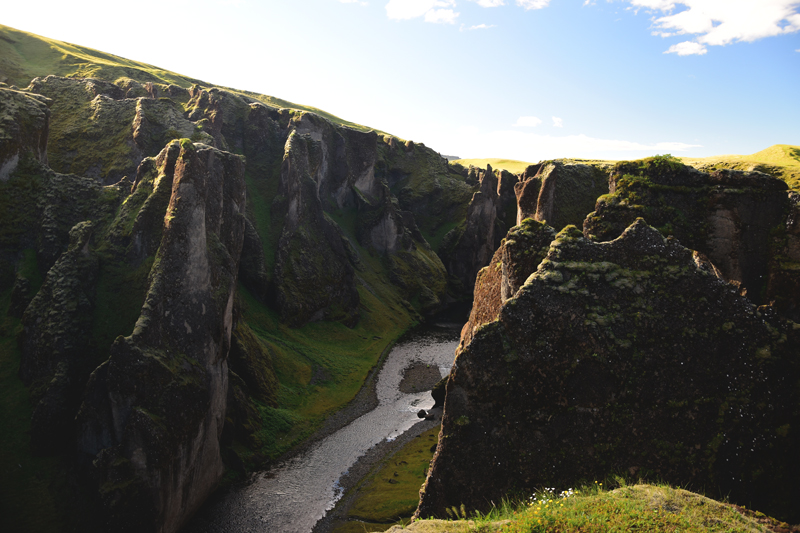 Islandia Fjaðrárgljúfur