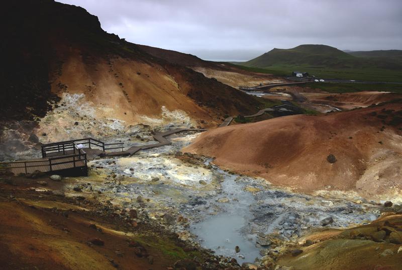 Islandia Krísuvík