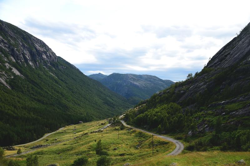 krajobraz preikestolen