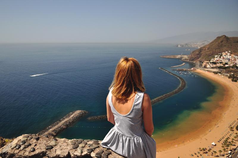 Playa de Las Teresitas Teneryfa