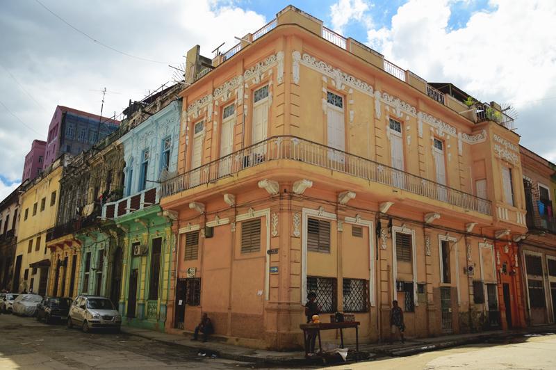 Centro Habana budynek