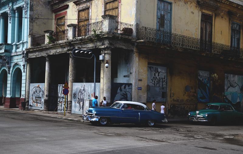 ulice w Hawanie