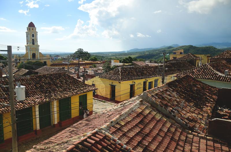 Trinidad Kuba krajobraz