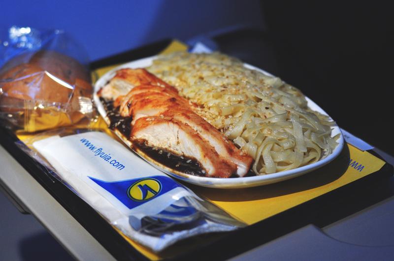 UIA posiłki na pokładzie