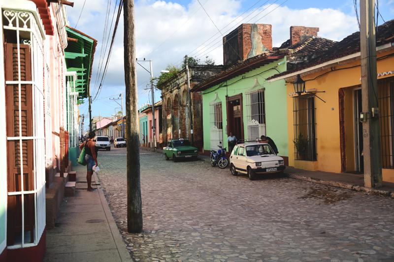 ulica Trinidad Kuba