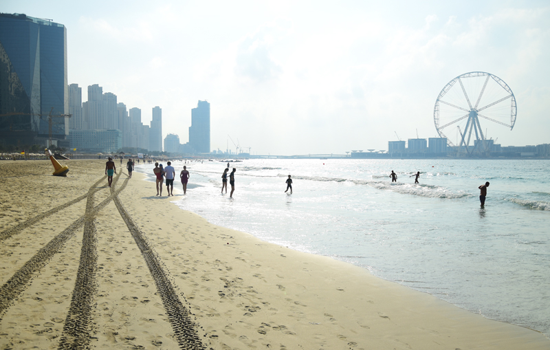 jbr plaża dubaj