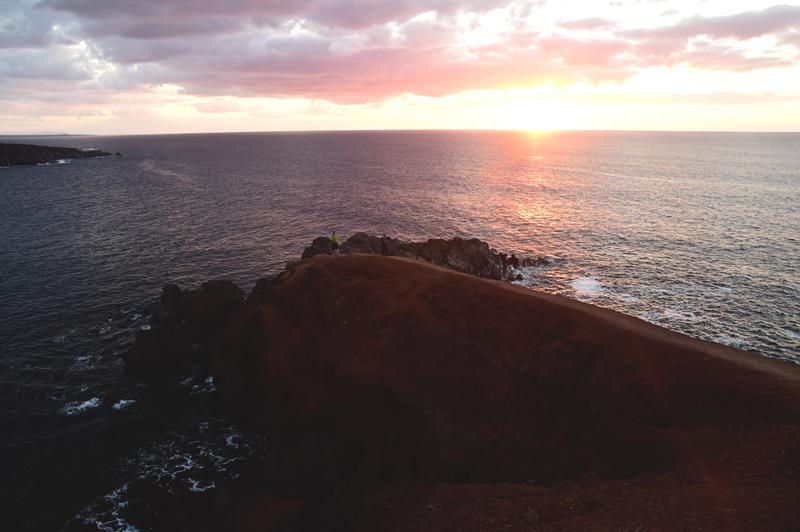 zachód słońca Lanzarote