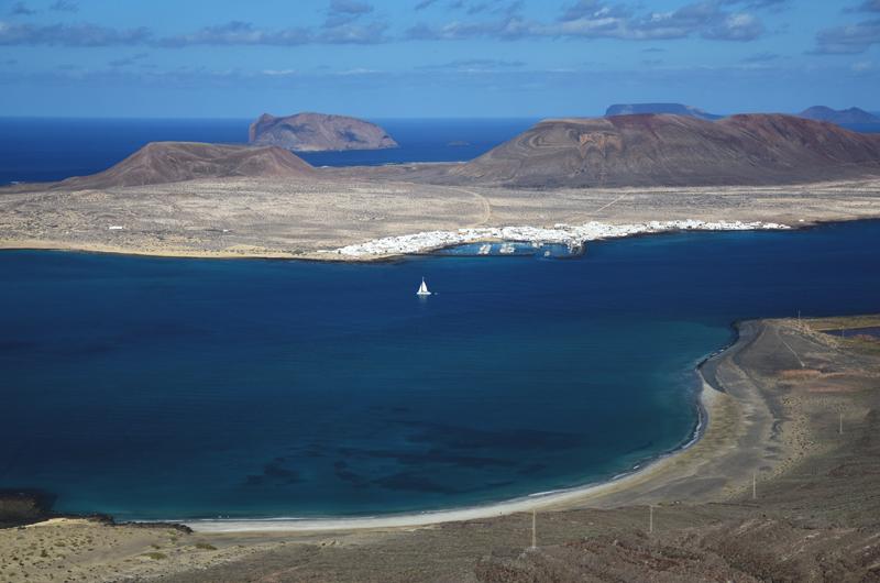 panorama na Lanzarote