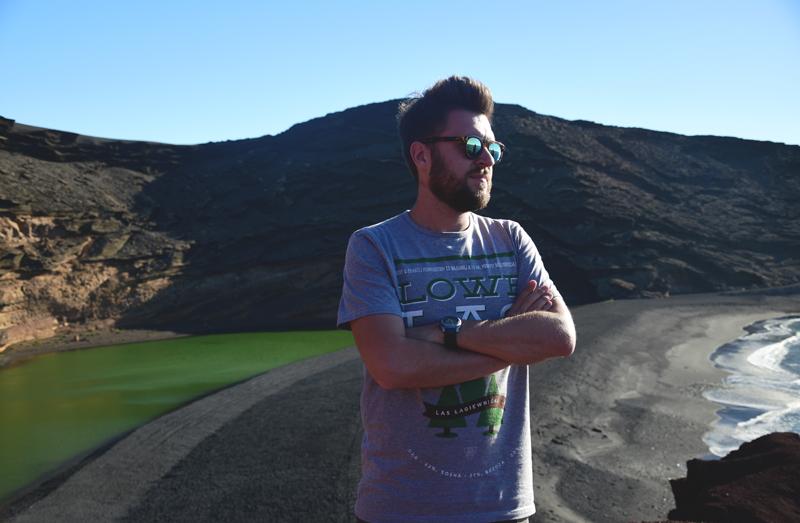 Lanzarote zielone jezioro