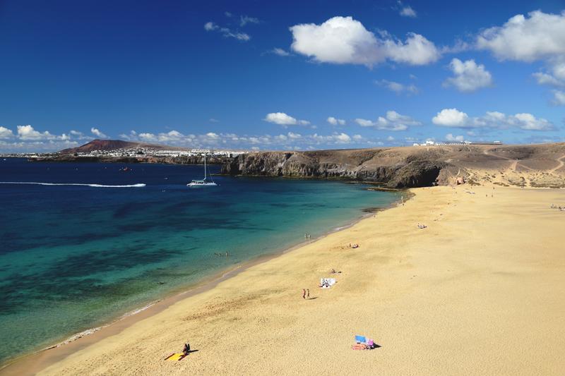 Lanzarote plaże