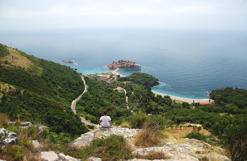 Czarnogóra punkt widokowy