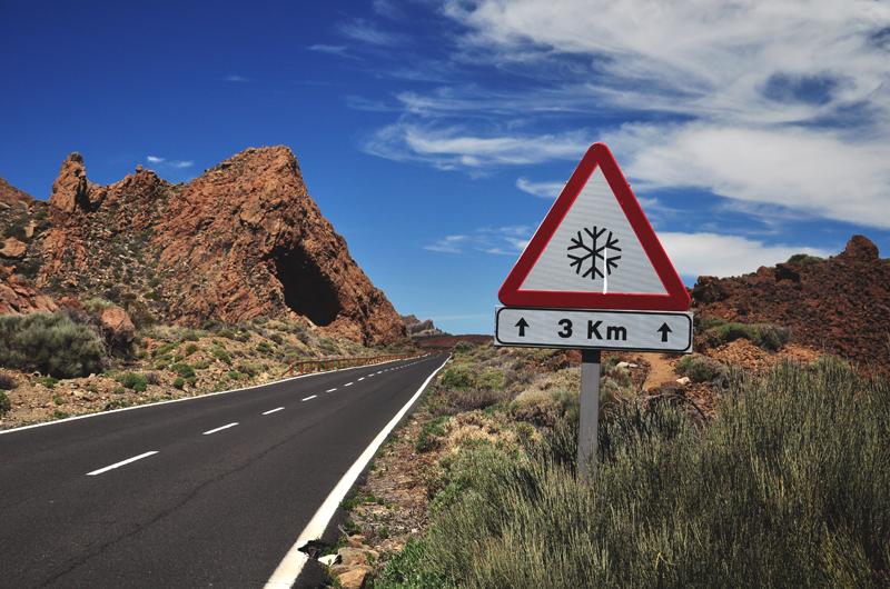Droga do Teide