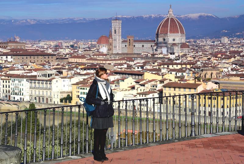 Florencja punkt widokowy