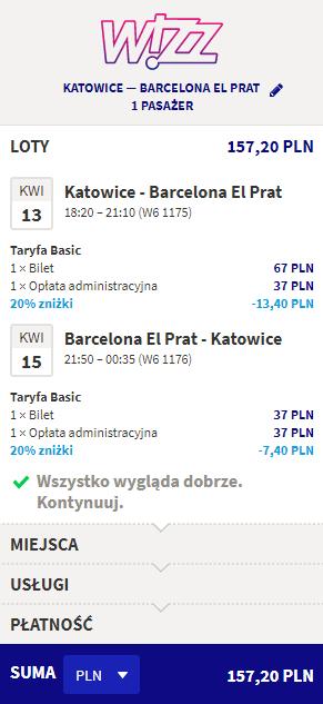 tanie loty do Barcelony