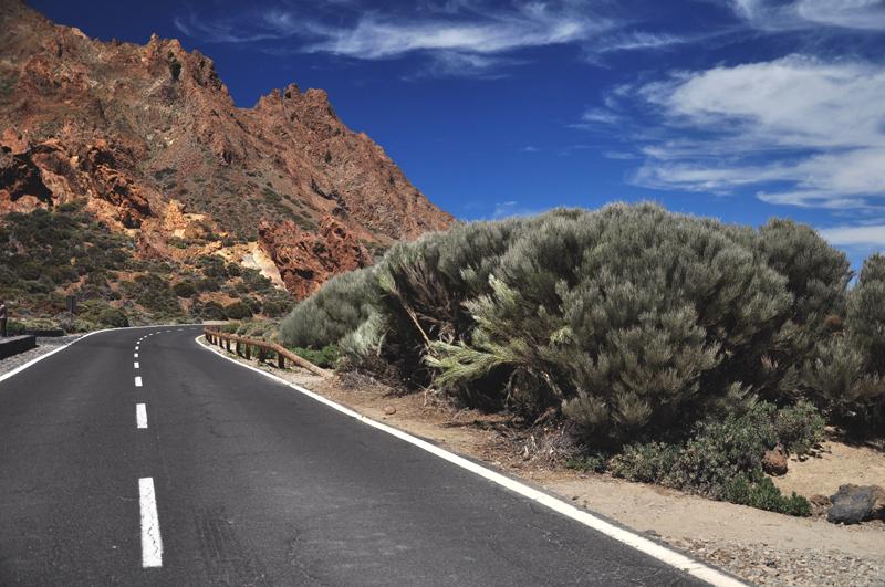 Park Narodowy Teide droga