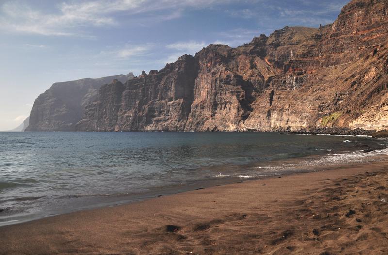 Los Gigantes plaża Teneryfa