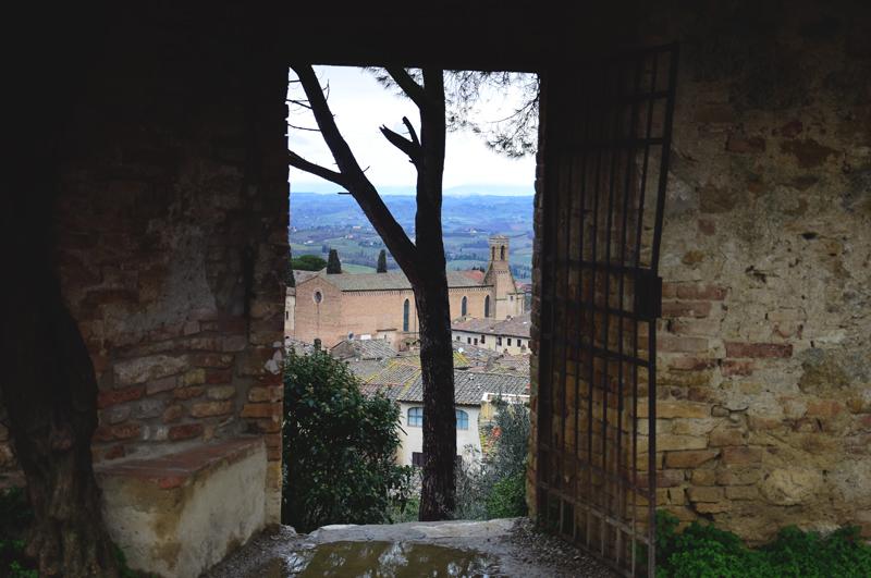 widok na San Gimignano