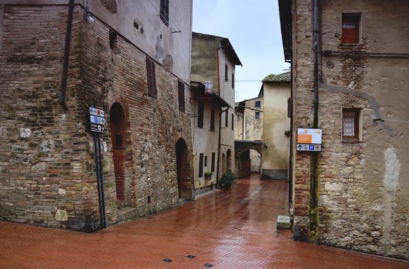 San Gimignano Toskania