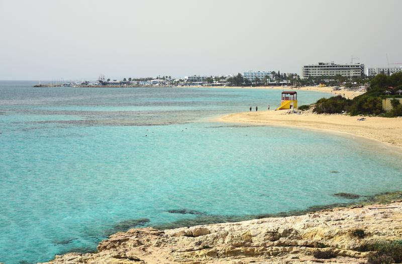 Ayia Napa plaża