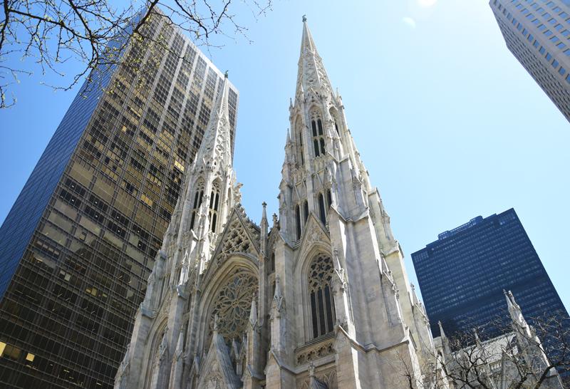 nowy jork katedra świętego patryka