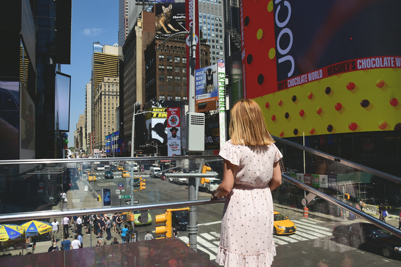 nowy jork times square
