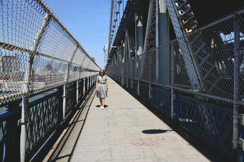 manhattan bridge nowy jork