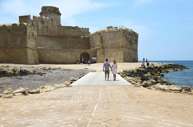 Atrakcje Kalabrii Le Castella