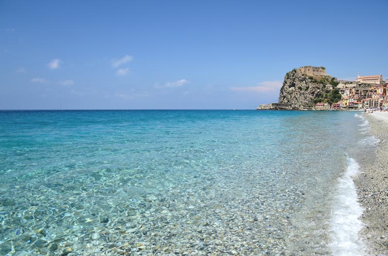 kalabria plaże