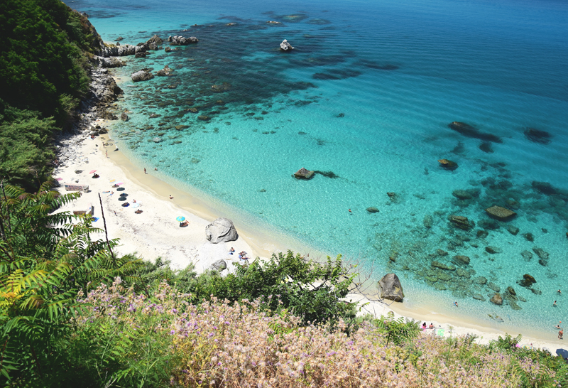 kalabria parghelia plaża