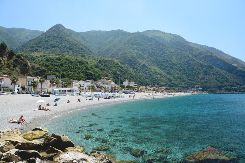 kalabria scilla plaża